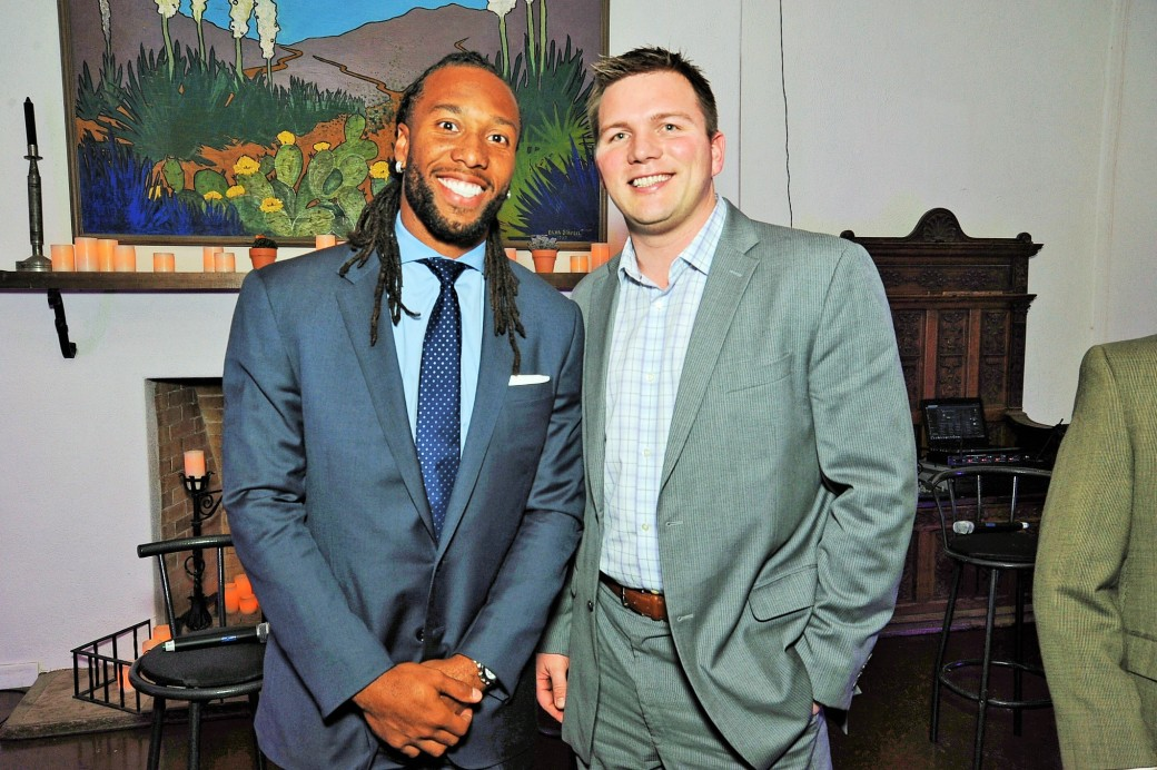 Larry Fitzgerald is a Pro's Pro.